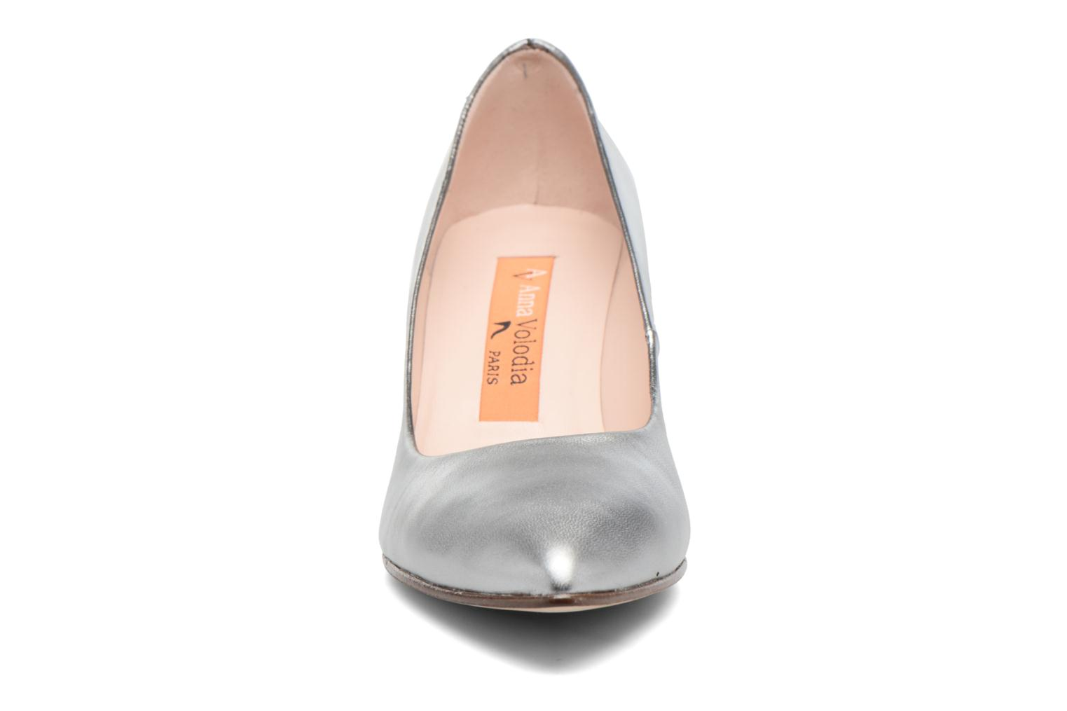 High heels Anna Volodia Ana Silver model view