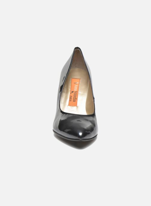 Zapatos de tacón Anna Volodia Avita Gris vista del modelo