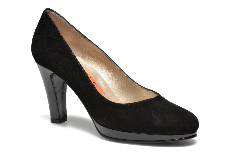 Anna Volodia Aranella (Noir) - Escarpins en Más cómodo Chaussures femme pas cher homme et femme