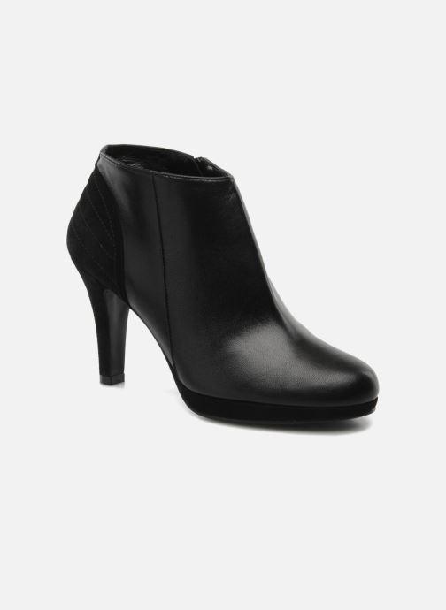 Ankelstøvler Anna Volodia Aida Sort detaljeret billede af skoene