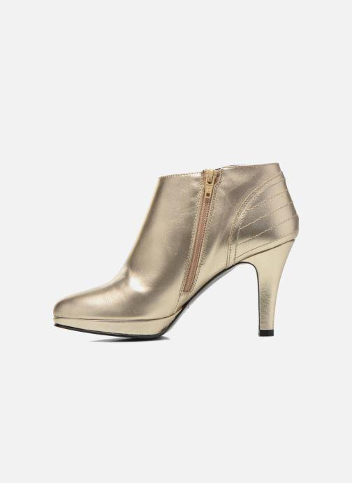 Bottines et boots Anna Volodia Aida Or et bronze vue face