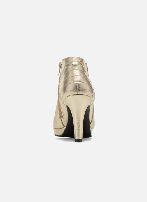 Bottines et boots Anna Volodia Aida Or et bronze vue droite
