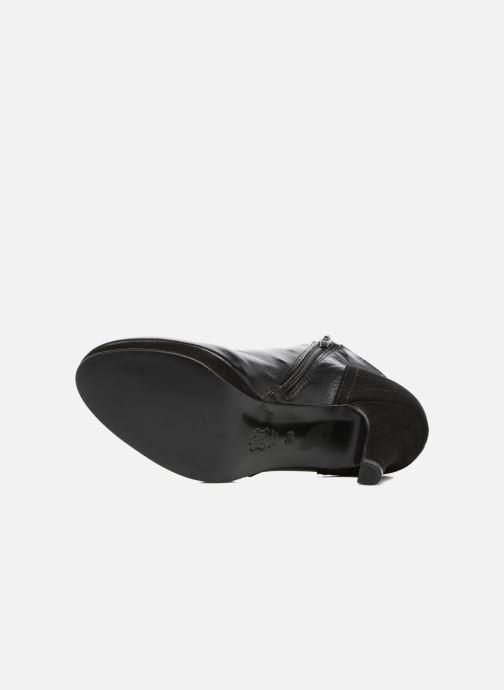 Bottines et boots Anna Volodia Aida Noir vue haut