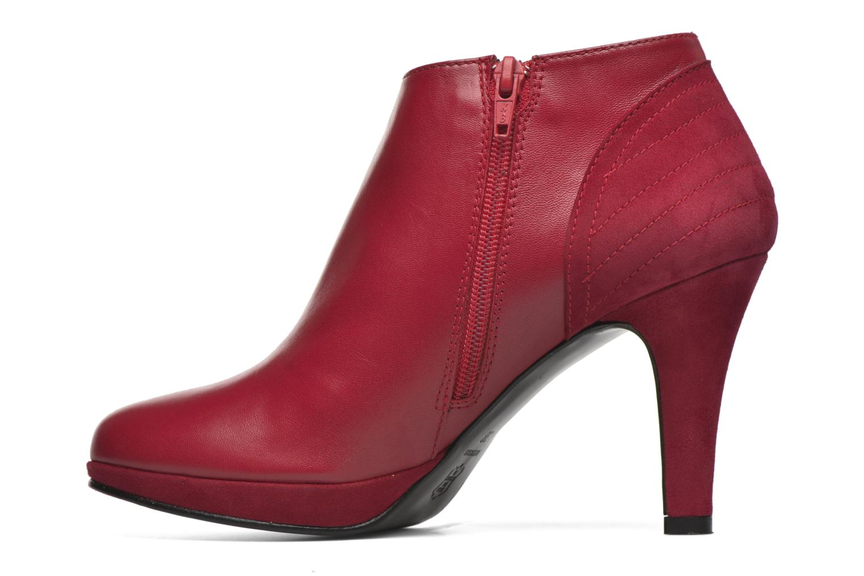 Bottines et boots Anna Volodia Aida Rouge vue face