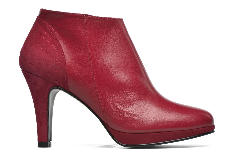 Bottines et boots Anna Volodia Aida Rouge vue derrière