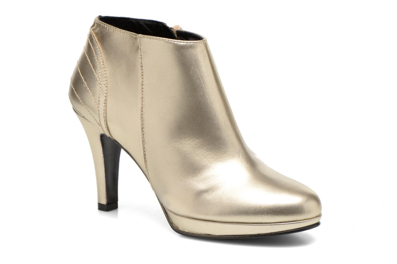 Bottines et boots Anna Volodia Aida Or et bronze vue détail/paire