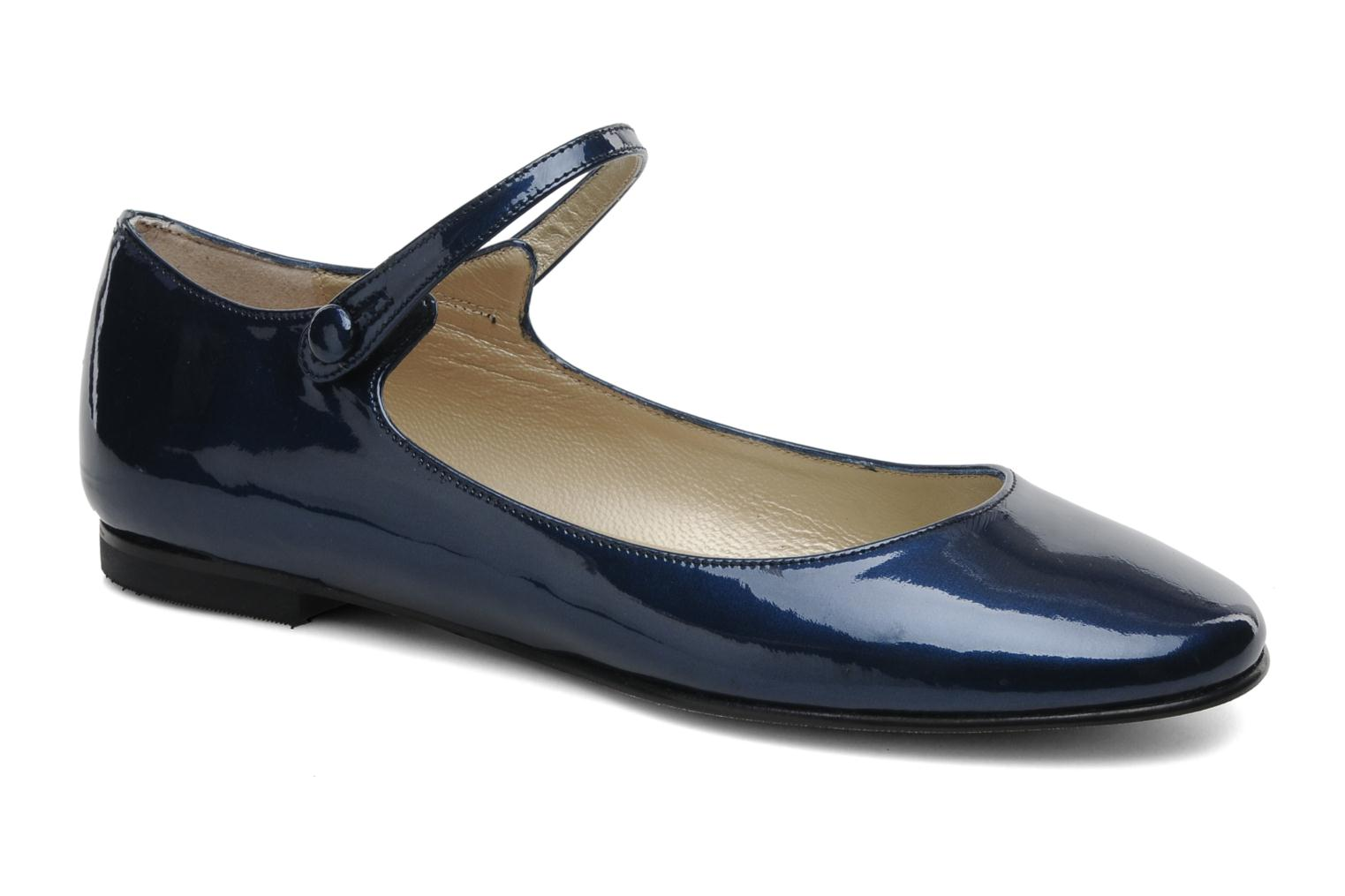 Ballet pumps Anna Volodia Aelan Blue detailed view/ Pair view
