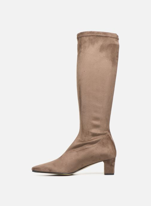 Boots & wellies Elizabeth Stuart EREL 342 Brown front view