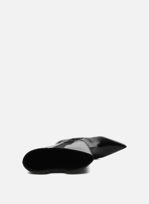 Botas Elizabeth Stuart Rosa Negro vista de arriba