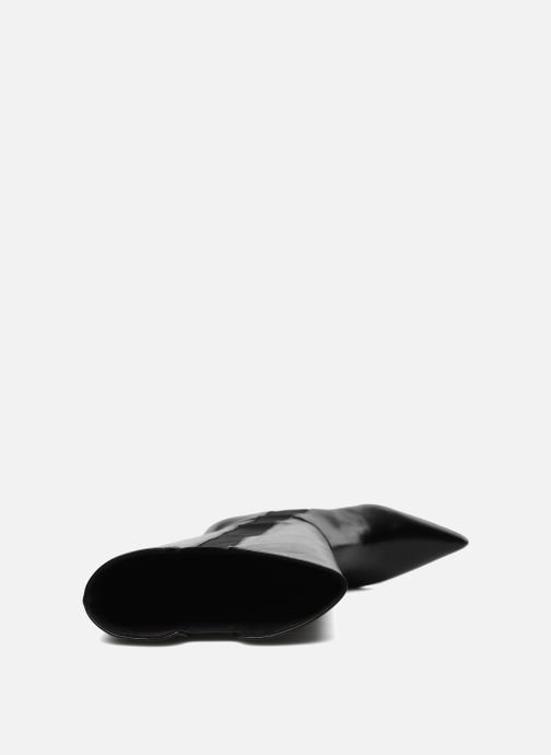 Bottes Elizabeth Stuart Rosa Noir vue haut