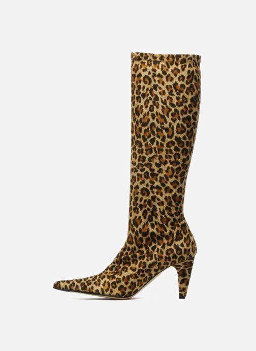 Boots & wellies Elizabeth Stuart Delice Brown front view