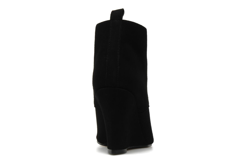 Bottines et boots Elizabeth Stuart Colas Noir vue droite