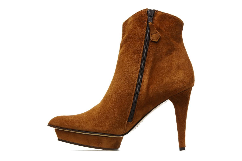 Bottines et boots Elizabeth Stuart Cid Marron vue face