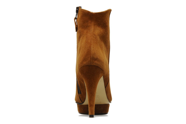 Bottines et boots Elizabeth Stuart Cid Marron vue droite