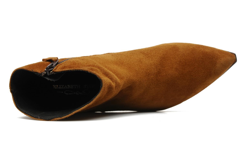 Bottines et boots Elizabeth Stuart Cid Marron vue gauche