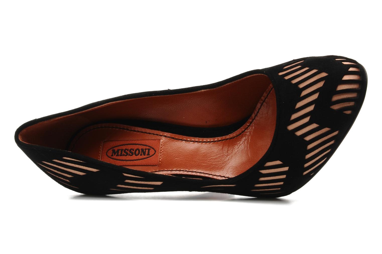 Zapatos de tacón Missoni Malii Multicolor vista lateral izquierda