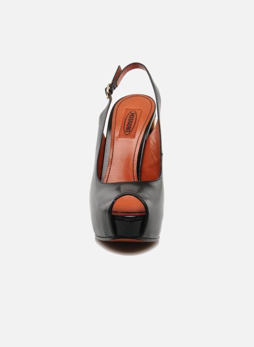 Sandalen Missoni Monia schwarz schuhe getragen