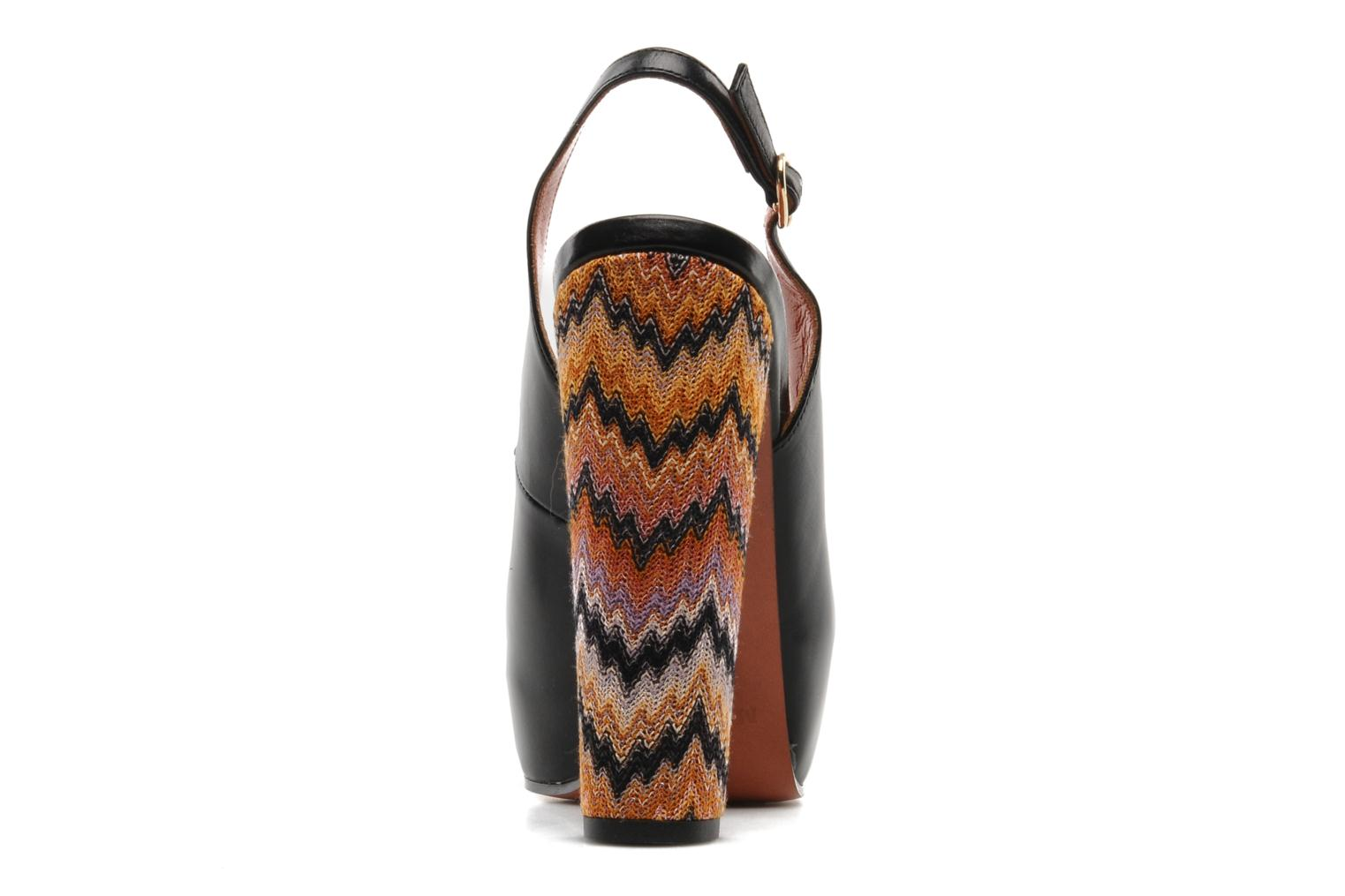 Sandals Missoni Monia Black view from the right