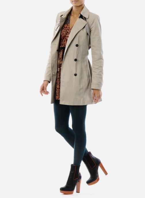Stiefeletten & Boots Missoni Miranella schwarz ansicht von unten / tasche getragen