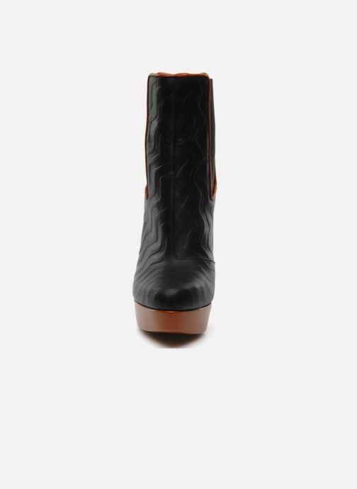 Ankelstøvler Missoni Miranella Sort se skoene på