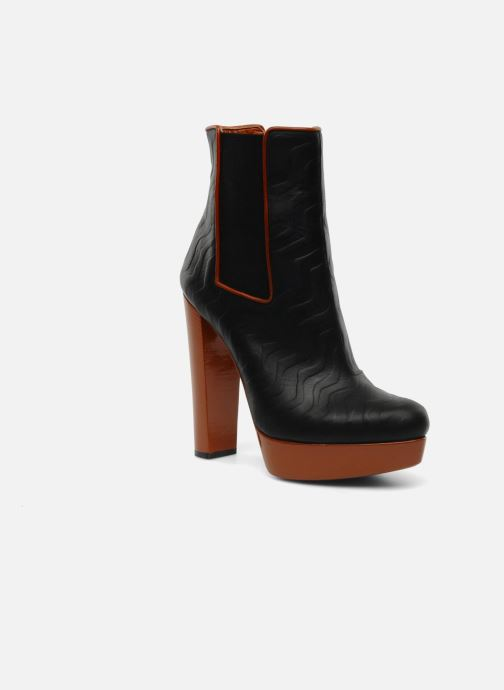Ankle boots Missoni Miranella Black detailed view/ Pair view