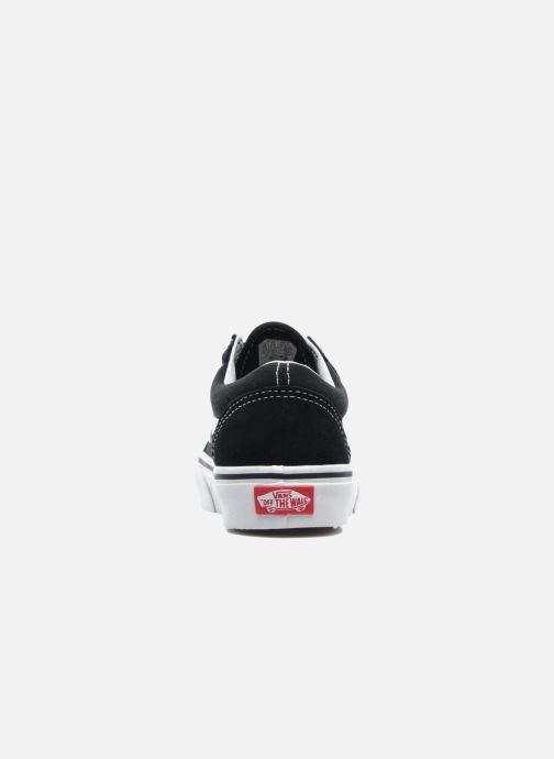 Sneaker Vans Old Skool v schwarz ansicht von rechts