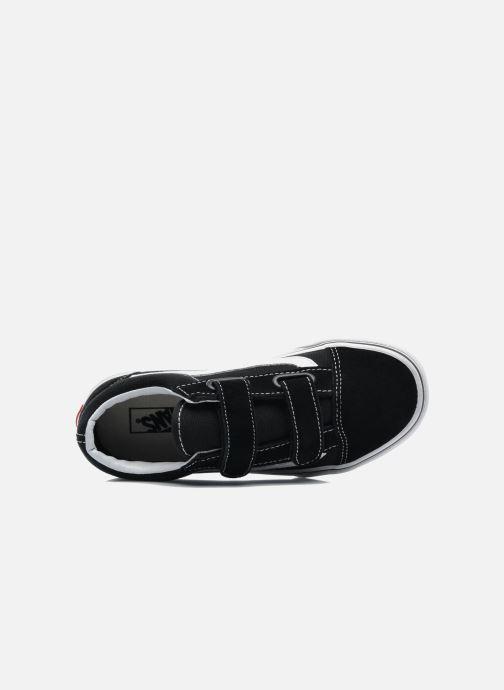 Sneaker Vans Old Skool v schwarz ansicht von links