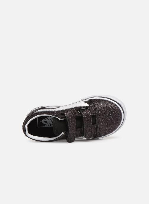 Baskets Vans Old Skool v Noir vue gauche