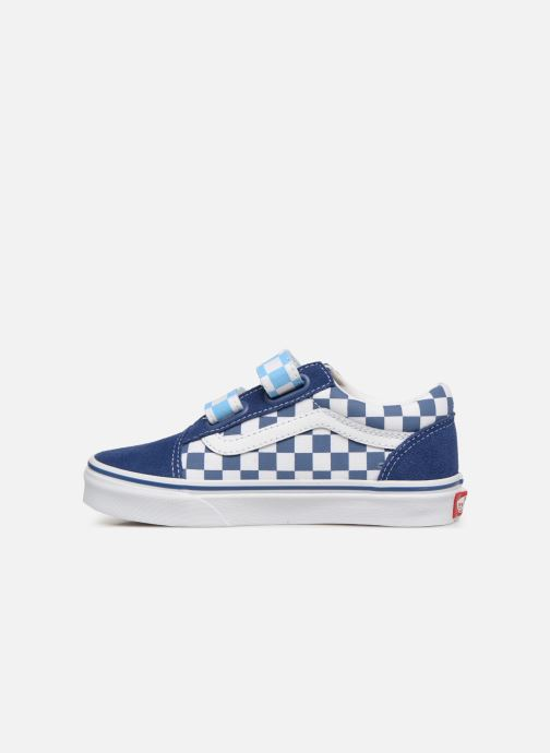 Baskets Vans Old Skool v Bleu vue face
