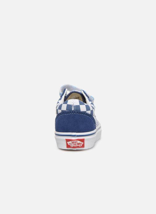Baskets Vans Old Skool v Bleu vue droite