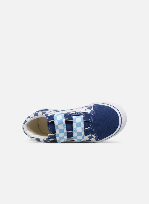 Baskets Vans Old Skool v Bleu vue gauche