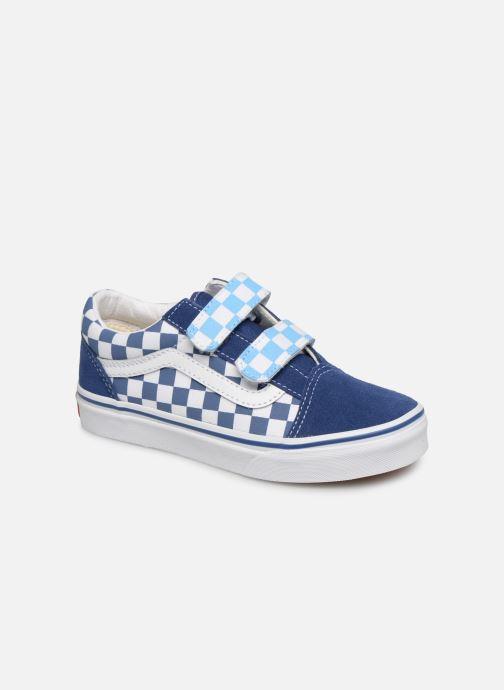 Baskets Vans Old Skool v Bleu vue détail/paire