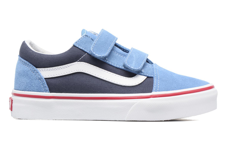Sneakers Vans Old Skool v Blauw achterkant
