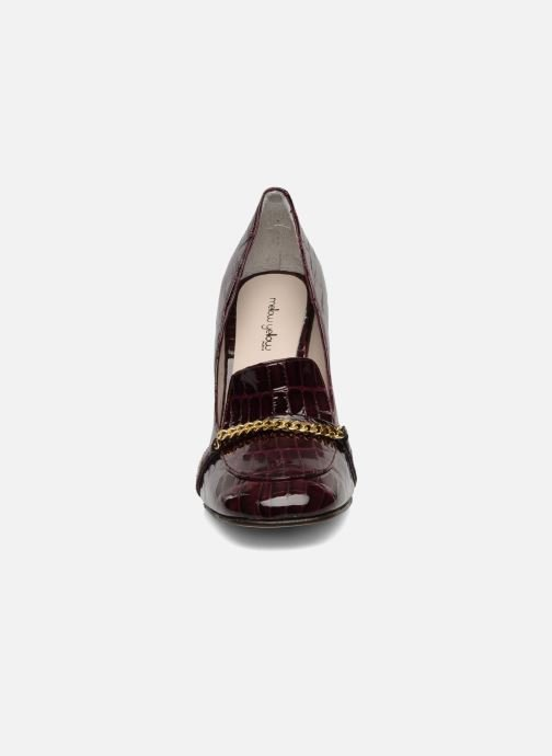 Loafers Mellow Yellow Myartist Burgundy model view