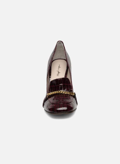 Mocassins Mellow Yellow Myartist Bordeaux vue portées chaussures