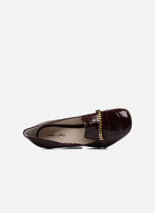 Loafers Mellow Yellow Myartist Burgundy view from the left