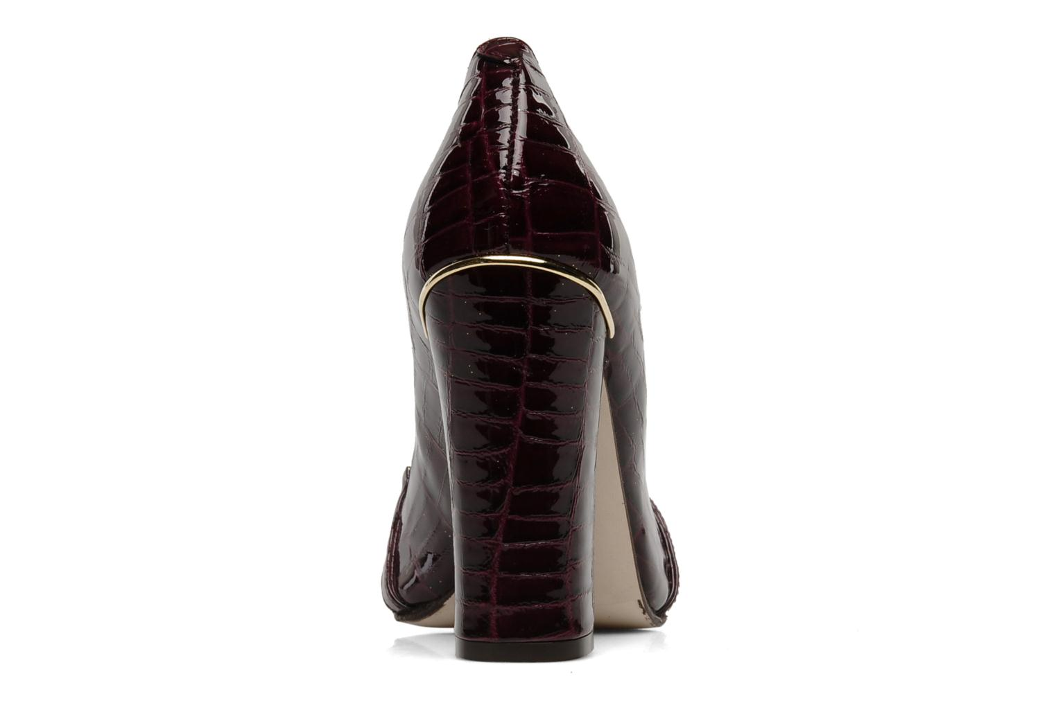 Loafers Mellow Yellow Myartist Burgundy view from the right