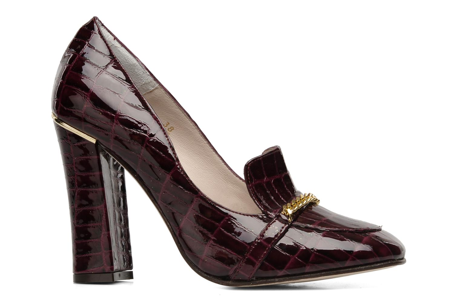 Loafers Mellow Yellow Myartist Burgundy back view
