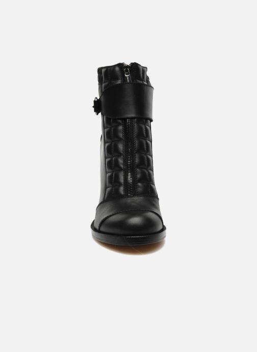 Bottines et boots Vanessa Bruno Vahia Noir vue portées chaussures
