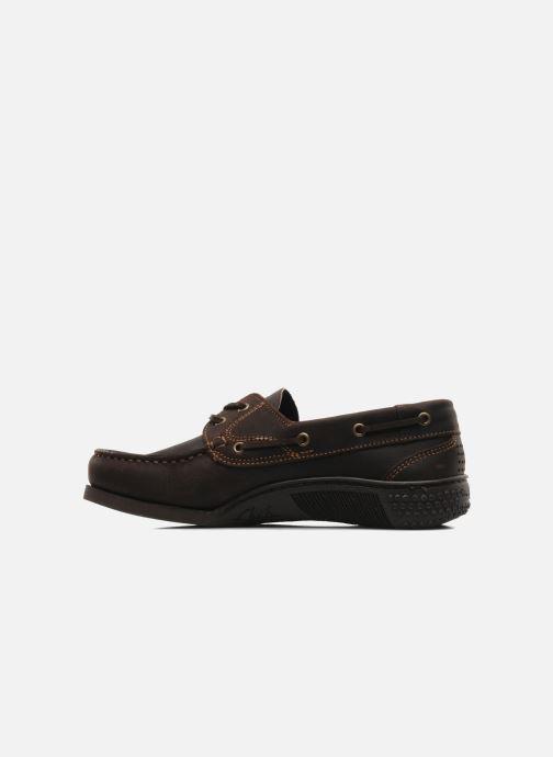 Zapatos con cordones TBS Hauban Marrón vista de frente