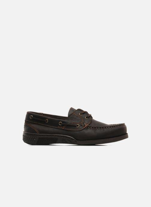 Chaussures à lacets TBS Hauban Marron vue derrière