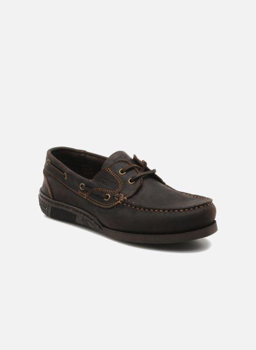 Zapatos con cordones TBS Hauban Marrón vista de detalle / par
