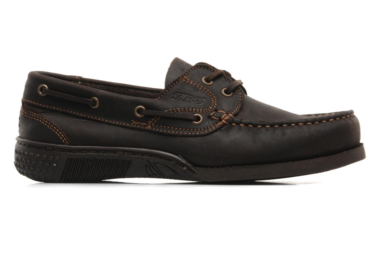 Zapatos con cordones TBS Hauban Marrón vistra trasera