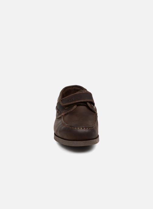 Mocassins TBS Homard Marron vue portées chaussures