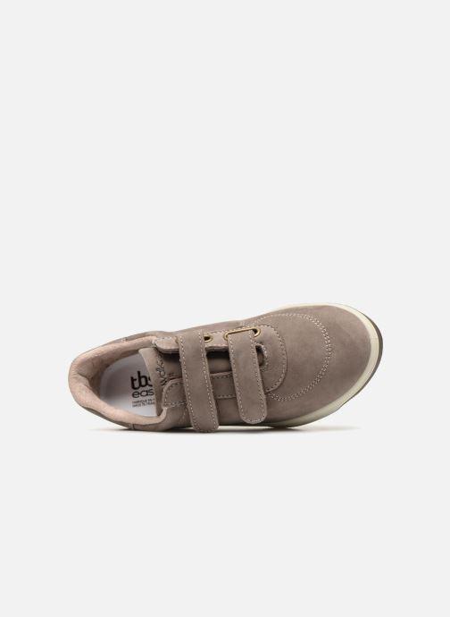 Sneakers TBS Easy Walk Biblio Grigio immagine sinistra