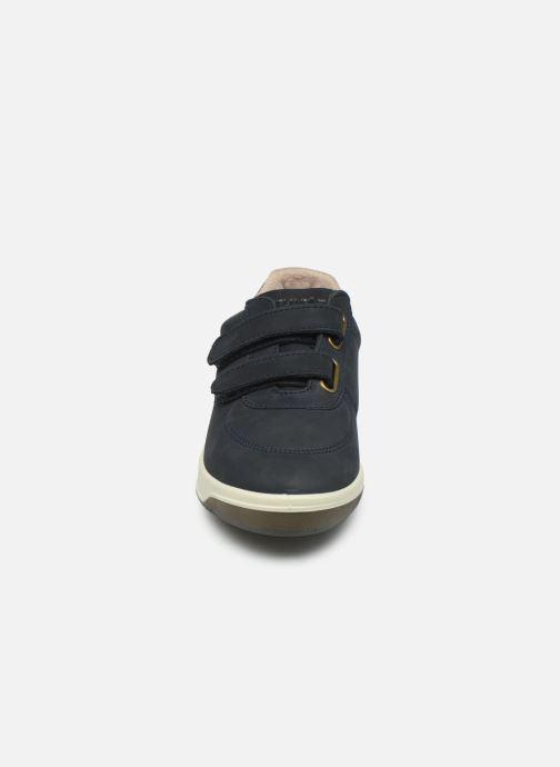 Baskets TBS Easy Walk Biblio Bleu vue portées chaussures