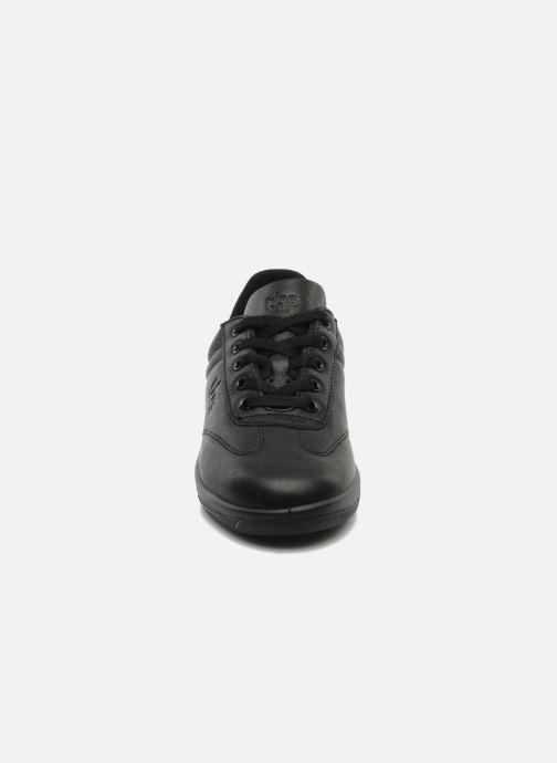 Sneaker TBS Easy Walk Dandys schwarz schuhe getragen