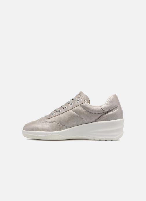 Sneakers TBS Easy Walk Dandys Zilver voorkant