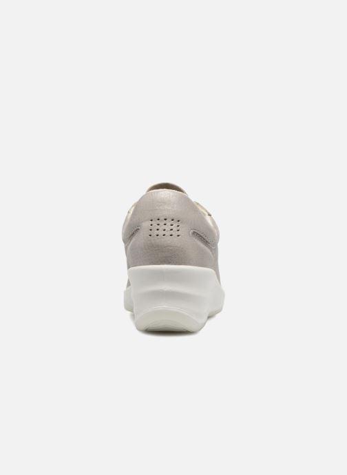 Sneakers TBS Easy Walk Dandys Zilver rechts