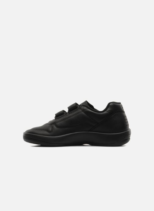 Sneaker TBS Made in France Archer schwarz ansicht von vorne
